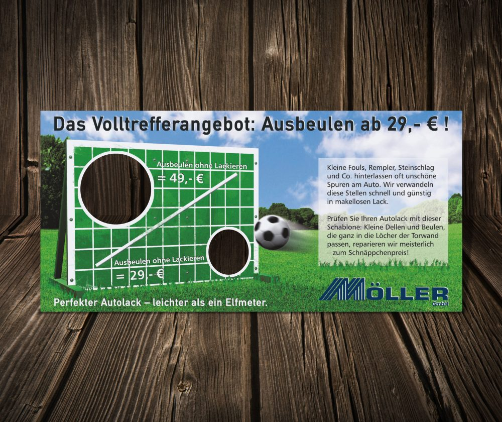 flyer möller fussball