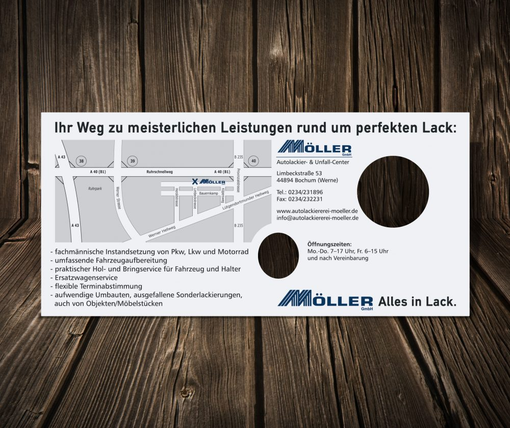 flyer möller fussball back