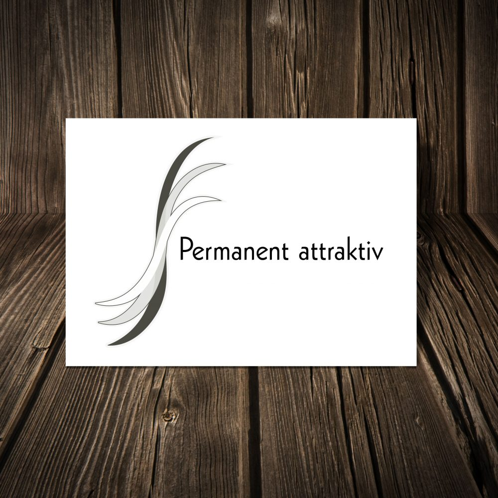 logo permanent attraktiv