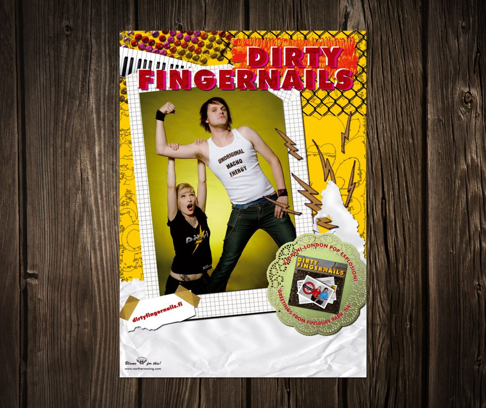 poster dirty fingernails